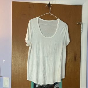 Merona white top
